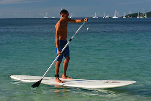 Stand up paddle boarding in Grenada